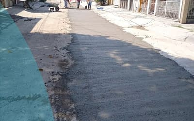 """Reparación """"Calle del Agua"""""""